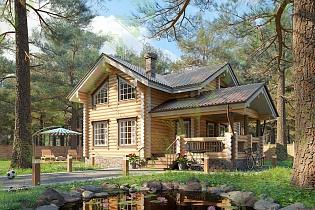 Изображение - Дома из оцилиндрованного бревна в кредит 9eb2950055fe1b97547060c834a08865