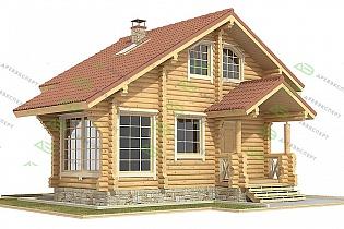 Изображение - Дома из оцилиндрованного бревна в кредит c05dbc635028a7eedb8094290cf276c2